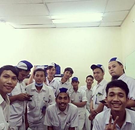 Para Pendaftar Lowongan Kerja di Cikarang yang Dibuka oleh PT Yutaka Manufacturing Indonesia