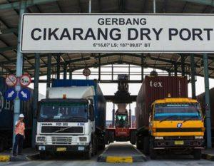 Jalur Akses ke Cikarang Dry Port Diharapkan Bisa Mengurai Kemacetan Tol Jakarta-Cikampek-Cikarang dan Meminimalkan Kerusakan Jalan Tol