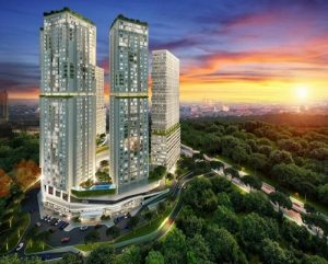 Rencana Tampilan Ekterior Apartemen Meikarta Cikarang